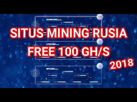 Baru!!! Situs Mining Rusia FREE 100 GH/S.