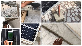 Solar stand making (DIY)   How to make cheap and strong solar stand