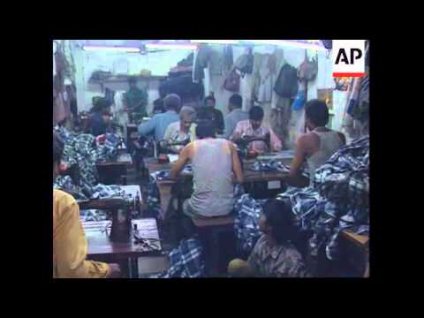 INDIA: DHARAVI SLUMS TRANSFORMING INTO MINI INDUSTRIAL STATE
