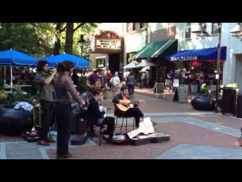 Charlottesville Downtown Mall Musicians