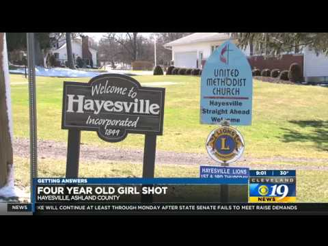 8-year-old shoots 4-year-old baby sister in Hayesville Ohio