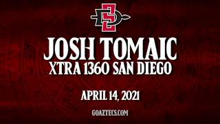 SDSU MEN'S HOOPS: JOSH TOMAIC - XTRA 1360 SAN DIEGO