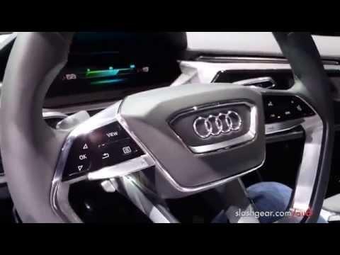 Audi e-tron Quattro Concept Exclusive first look inside  [4k]