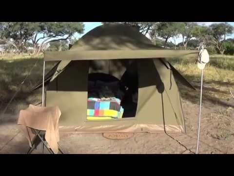 Botswana Mobile Safari Accommodation