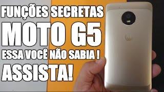 Funções Secretas no Moto G5 que você talvez não sabia que ele tem!