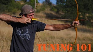 Tuning a Recurve, longbow, or selfbow for perfect arrow flight