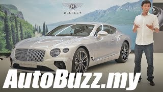 Bentley Continental GT W12 twin-turbo, Things You Need To Know - AutoBuzz.my