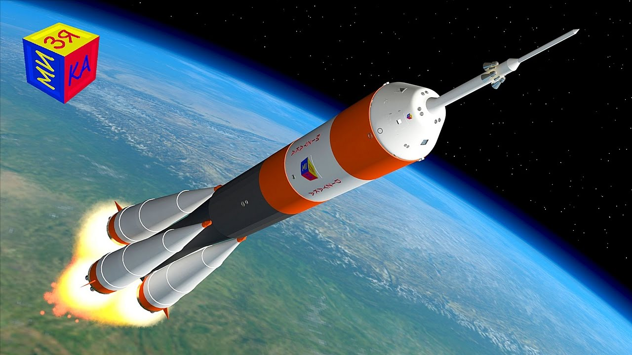 Мультик для детей про ракету и космос. Конструктор
