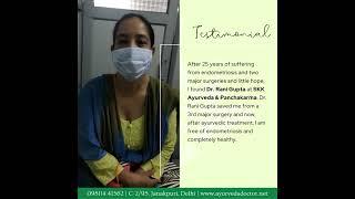 Success story: Endometriosis by Dr.Rani Gupta