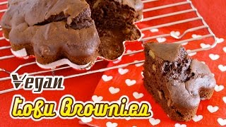 Vegan Tofu Brownies 豆腐ブラウニー - OCHIKERON - CREATE EAT HAPPY