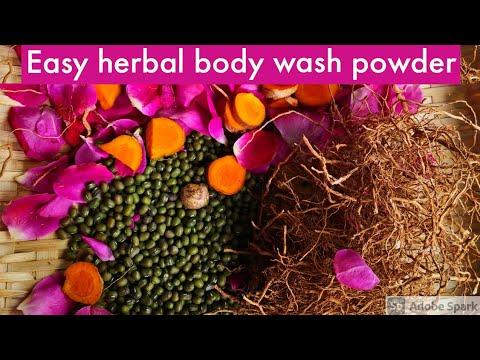 Herbal Bath Powder - Easy Version - No outside mill  மூலிகை குளியல் பொடி   New Comers to Singapore