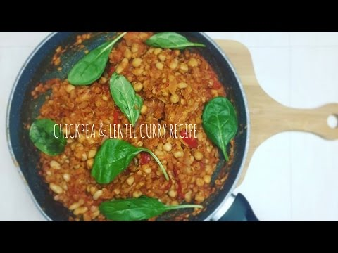 HOW TO: CHICKPEA & LENTIL CURRY RECIPE