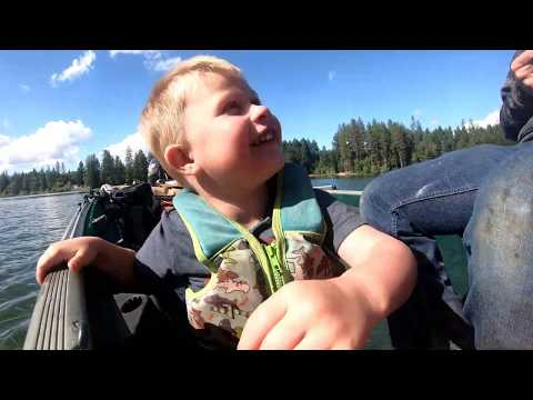 Fishing The Back To Back State Record Bass Lake Oregon-Catching Flair Fish Not Records!