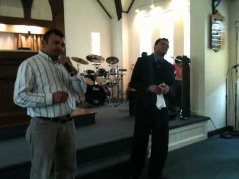 Evangelista Jaime Sanchez testimonios de hermanos en Cincinnati Ohio