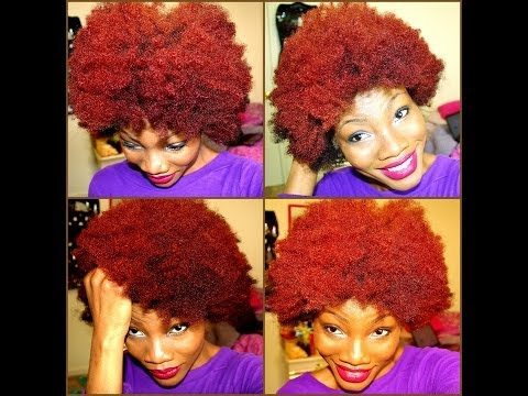 red natural hair experience