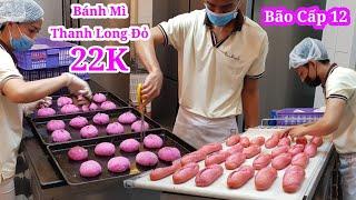 Có gì bên trong lò sản xuất bánh mì Thanh Long Đỏ của Vua Bánh Mì Gây bão Sài Gòn