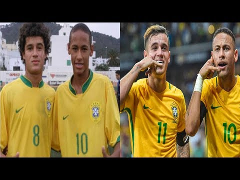 Best Friends in Football - Coutinho and Neymar