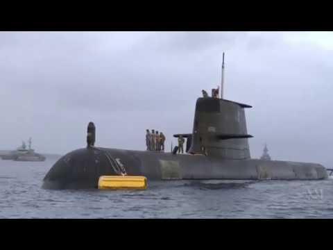 Submarine Waller at sea, report