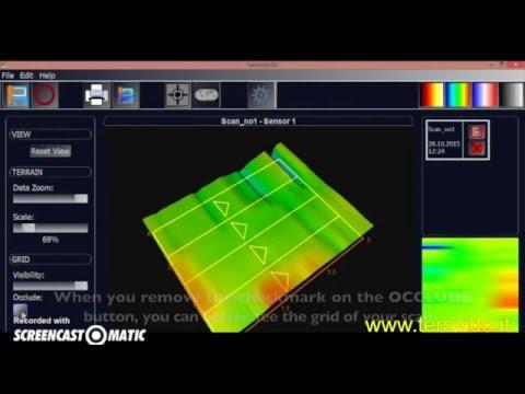 Tero Vido Software 3 scanning