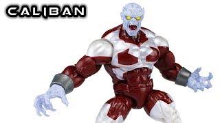 Marvel Legends CALIBAN BAF X-Men Action Figure Review