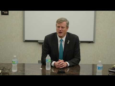 Gov. Charlie Baker's full meeting with editorial board of The Republican