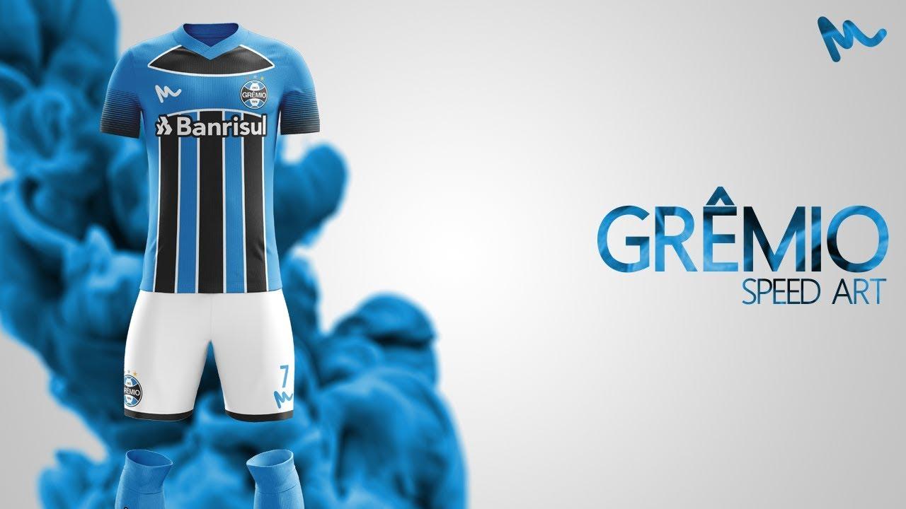 9e4c3df70 Grêmio Kit Design    Speed Art - YouTube