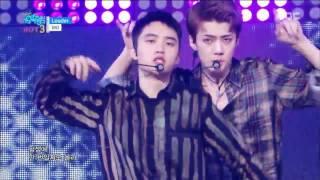 [160827] EXO - LOUDER (LOTTO) @ Show! Music Core D.O CUT