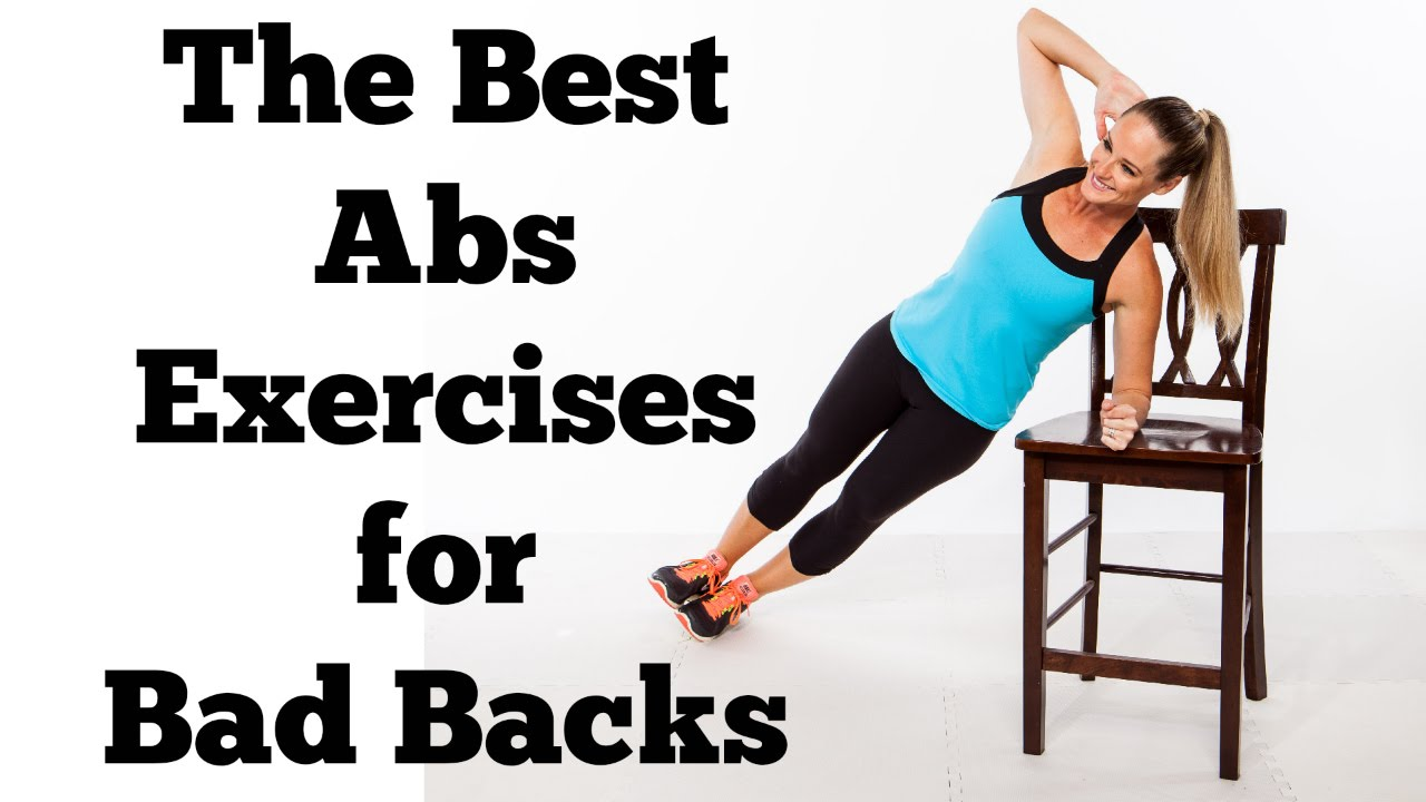 The Best Abs Exercises That Wont Hurt Your Back
