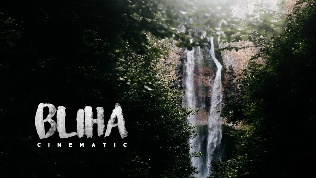SOUNDS OF BLIHA WATERFALL - Vodopad Blihe - Cinematic Video