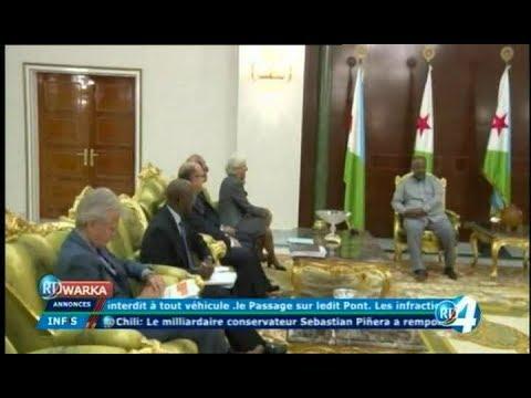 Télé Djibouti Chaine Youtube : JT Somali du 18/12/2017