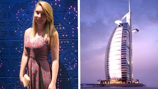 DINNER AT THE WORLDS ONLY 7 STAR HOTEL | BURJ AL ARAB...!!!