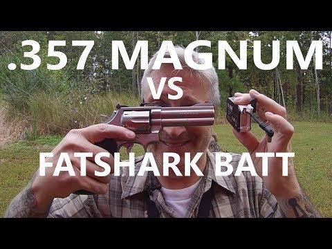 .357 MAGNUM vs Fatshark and Osmo Batteries - KEN HERON