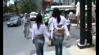 Walking girls
