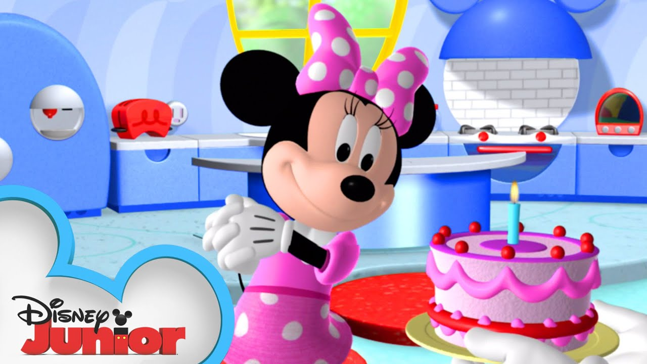 Download Happy Birthday Minnie Mouse 🎈  Mickey Mouse Clubhouse   Mickey Mornings   Disney Junior
