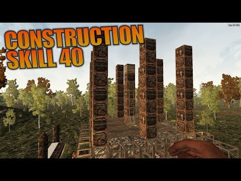 construction-skill-40- -ravenhearst-mod-7-days-to-die- -let's-play-gameplay-alpha-16- -s01e19