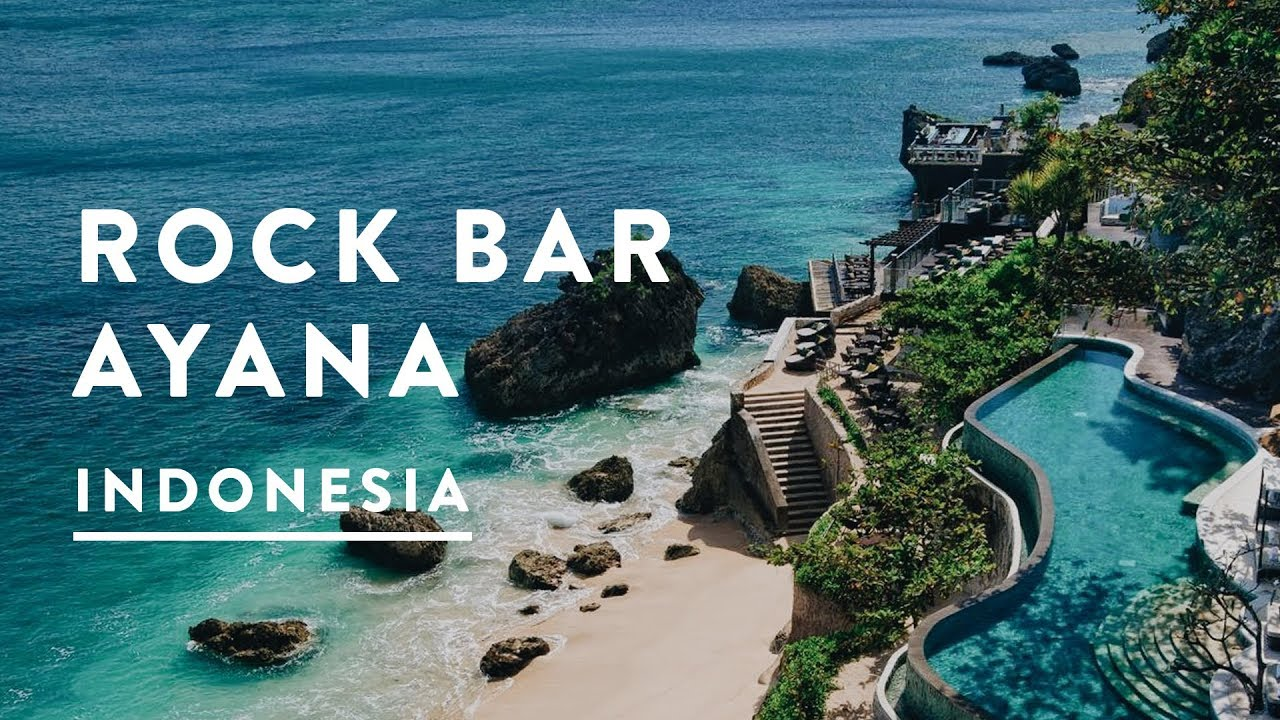 Rock Bar Bali Ayana Resort Sunset Jimbaran Travel Vlog 006 2016