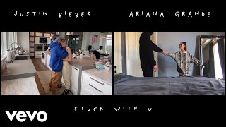 Gambar cover Ariana Grande & Justin Bieber - Stuck with U (Official Video)