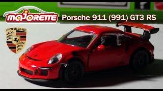 Majorette Premium Cars Porsche 911 (991) GT3 RS Review