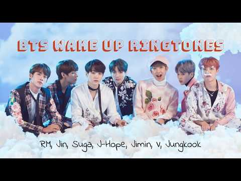 BTS wake up calls 😉💜