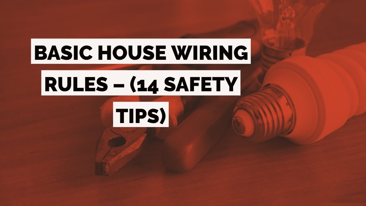 House Wiring Rules | Wiring Schematic Diagram on