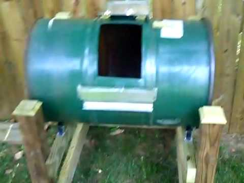 how to make a compost bin at home youtube