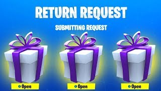 KOSTENLOSE Fortnite GIFTING Glitch... Funktioniert es...