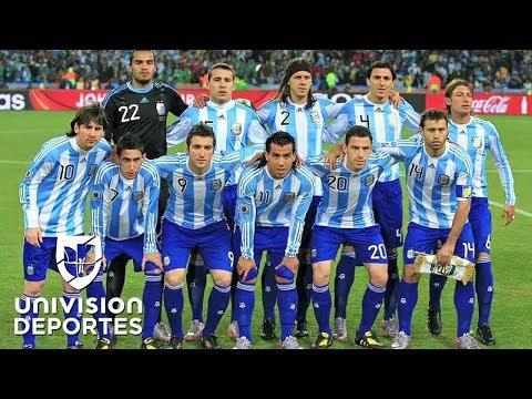 La Argentina que eliminó a México en el Mundial 2010 habría tenido tres casos de doping
