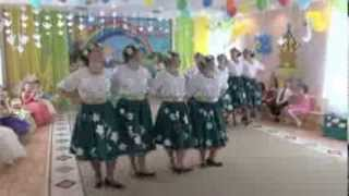 Прекрасный танец сотрудников детского сада №1637