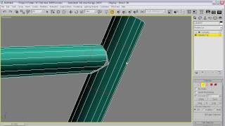 3Ds Max: How to model welded tubes