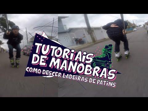 COMO DESCER LADEIRAS DE PATINS ( INICIANTE )