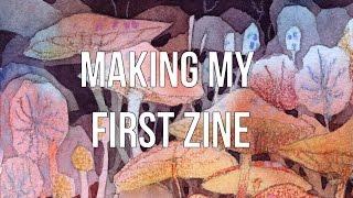 Making my first zine! (Skillshare class!)