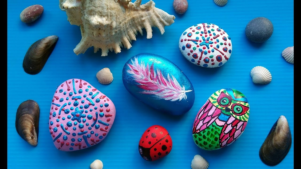 DIY Rock Painting Craft Ideas - Amazing Stone Art For Summer Home ...