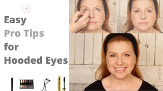 Easy Eye Makeup for Hooded Eyes | Pro Tips 'n Tricks