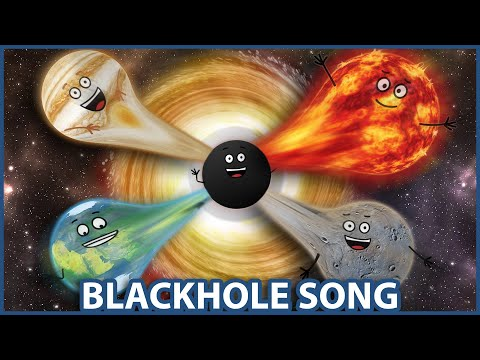 OH NO! Its a Black Hole Song | Planets & Black Hole Facts | Solar System | Fun Learning Music